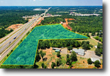 Texas Land 22 Acres 22ac C-2 Commercial I-20 Frontage