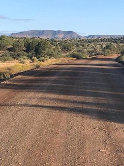 Forest Road 525 to claim road