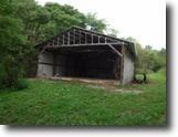 Tennessee Hunting Land 140 Acres 139+ac Creek, 24x32 Pole Barn, Easy Access
