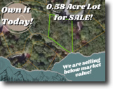 0.58-acre Gem in Lake Lure!