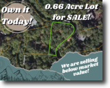 0.66-acre Vacation Lot in Lake Lure!