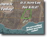 Half-acre Gem to  Build your Dream Home!