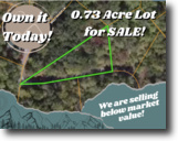 0.73-acre lot in Lake Lure!