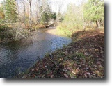Michigan Land 7 Acres Beautiful Cascading River Frontage 1124133