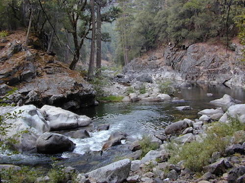 pacific creek, claim creek california