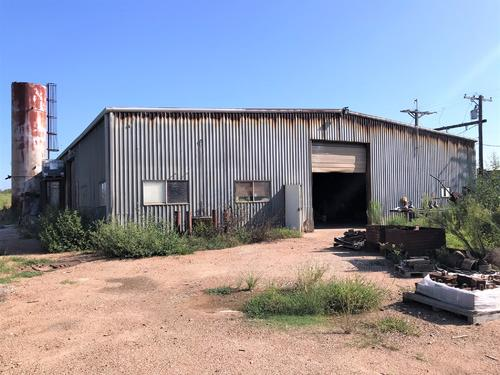 metal warehouse office bldg property el campo texas