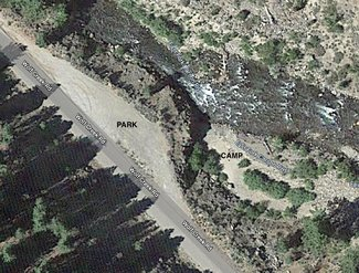 Claim satellite view camping spot