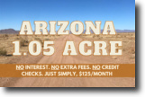 1.05 Acre in Mohave County, AZ