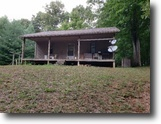 Tennessee Ranch Land 237 Acres 236.92 Ac W/ Cabin, Creeks, Totally Wooded