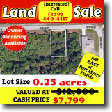 0.25ac nearby Fort Myers 5K Off Market