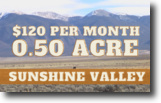 0.50 Acres in Sunshine Valley. Luna County