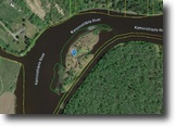 Ontario Waterfront 4 Acres Kaministiquia River Island A