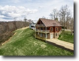Tennessee Land 1 Acres 180° Dale Hollow Lake View Custom Home