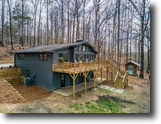 Chalet style home on 10 acres