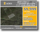 North Carolina Land 2 Acres Perfect 2ac Investment Opportunity in Jack