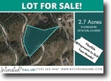 2.7-Acres Gorgeous Lot in Littleton, CO!