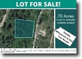 .70-Acre Lot in Lowmaman, ID!