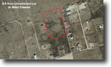9.9 Acre Unrestricted Lot In Ector County!