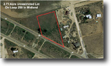 ​2.71 Acre Unrestricted Lot In Midland!