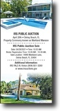 IRS Public Auction Sale