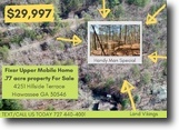 Georgia Land 1 Acres Handy Man Special – Land with Mobile Home