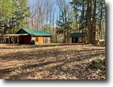 New York Farm Land 7 Acres Fully Finished Cabin in Camden