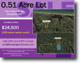.51 Acre Lot Selling at a Great Price!!