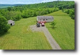 New York Hunting Land 70 Acres 69 ac House Garage Bath NY 5030 Middle Rd