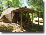 Michigan Land 40 Acres Geodesic Dome Cabin on 40 Ac 1127693