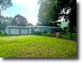 New York Waterfront 2 Acres House Garage Wellsville NY 3416 Baldwin Rd