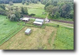 New York Farm Land 32 Acres 32 ac Barns Fields Andover NY State Rt 417