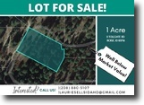 1-Acre Mountain View Lot In Boise, ID