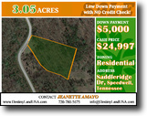 3.05 Acres in an Equestrian Lake Community
