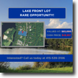 Pennsylvania Land 1 Acres LAKEFRONT LOT +Your Own Private Community!