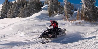 Miles of snow mobile trails