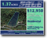 A 1.37 Acre Land Near Awesome Outdoor Site