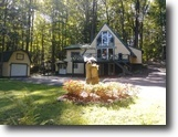New York Waterfront 3 Acres 3 Bedroom Home For Sale on Fish Creek