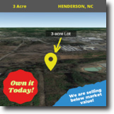 Awesome 3-Acre Gem in Henderson, NC!