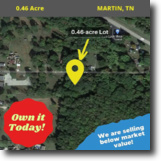 Great 0.46 acre Building Lot in City Limit